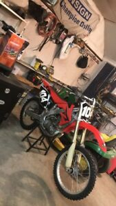 2008 Honda crf250r like new