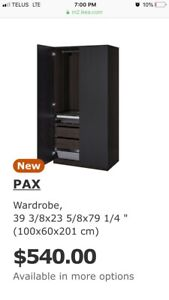 IKEA PAX wardrobe! Need to sell! Excellent condition!