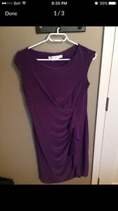 Purple Dress (Size Medium)
