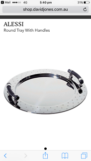 Alessi Michael Graves Stainless Steel Serving Tray