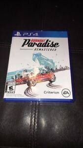 Selling Burnout Paradise Remastered and UFC 2 cheap