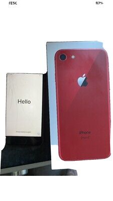 Apple iPhone 8 (PRODUCT)RED - 64GB - (EE) A1905 (GSM)