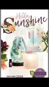 New 2018 Scentsy catalogue almost here