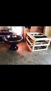 Balinese stone bird bath new or plant pot Penrith Penrith Area Preview