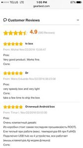 BEST ANDROID TV BOXES MINI M8S 2 Strathcona County Edmonton Area image 3