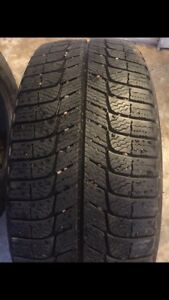 2 like new 16 inch Michelin Winter Tires