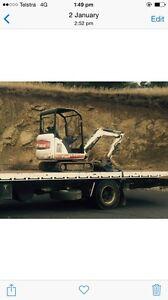 Bobcat 323 2006 excavator Glenorchy Glenorchy Area Preview