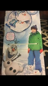 "Brand new,Frozen,Olaf ""Snow Kix"" Snow shoes, one size fits all."