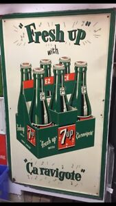 1950s 7-up sign