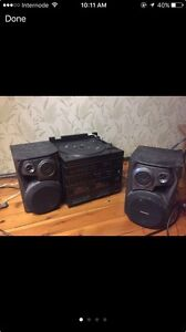 Stereo record player cassette deck with speakers Rushcutters Bay Inner Sydney Preview