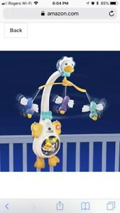 Baby Soothing Lights Musical Mobile