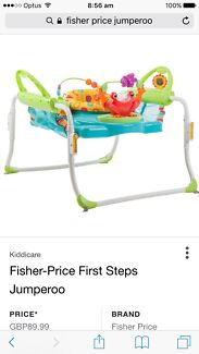 Fisher price jumperoo first steps