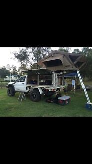 Nissan patrol tray and canopy package