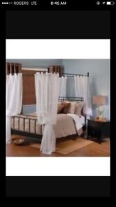 New Canopy Bed Frame only (Double)