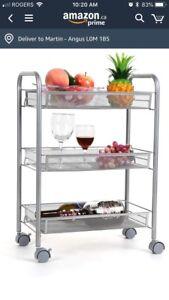 Brand new kitchen cart or storage cart