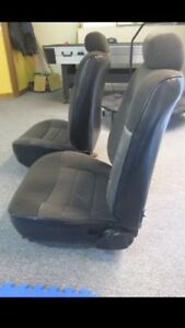 79-93 Ford Mustang Seats Black