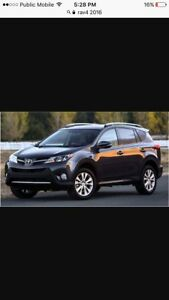 Wanted ! Toyota RAV 4 2016 -2017 . Low mileage