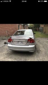 HoNda civic 2005 si full