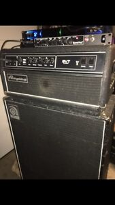 Ampeg american classic svt head and cab bass amp