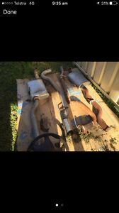 Exhausts ! 1x cat back 1x standard Greta Cessnock Area Preview