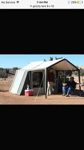 Kodak grizzly 8 x 12 tent with awning