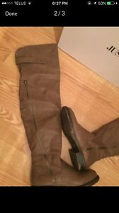 Size 6-7 knee high boots