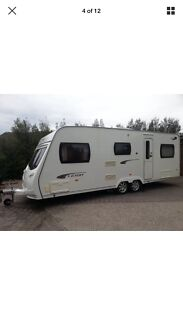 Wanted: Wanted 4 Berth Caravan with shower/toilet