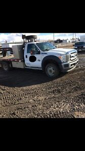 2012 F-450 XLT Diesel 4X4 complete with heavy duty deck