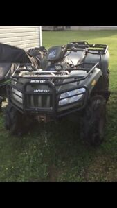 Arctic cat part out with good working motor