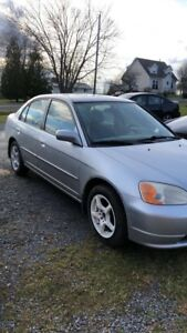 2002 5 speed civic for trade