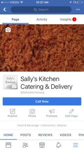 SALLY'S KITCHEN CATERING AND DELIVERY