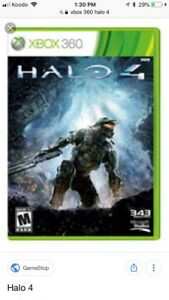 XBOX 360 Halo 4 2 Disc set