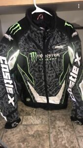 Castle X Monster Energy Winter Jacket (small)