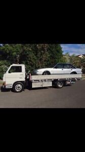 Mazda banana back tow truck car carrier  tilt Shellharbour Shellharbour Area Preview