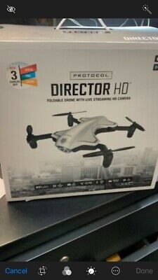 Practice  Director Foldable Drone with Live Streaming HD Camera