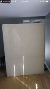 Queen sized Box spring with frame $75