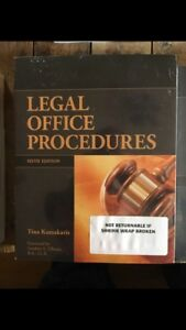 Northern College Law Clerk text books for sale
