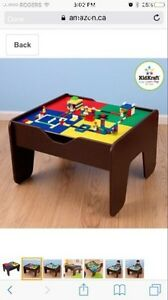 Kid Kraft 2 in 1 Lego/Train Table For kids