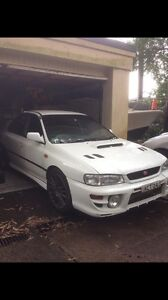 Modified GC8 WRX - project (blown head gasket) Chatswood Willoughby Area Preview