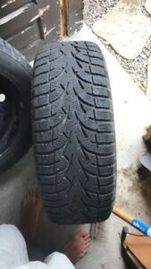 Tire toyo observe G3 ICE 235/60R17 And Rims