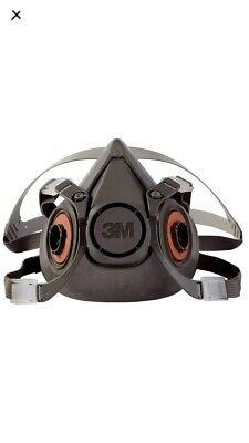 3m Large Half Facepiece Reusable Respirator 6300 New