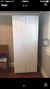 Wardrobe  white 2 door Eastwood Ryde Area Preview
