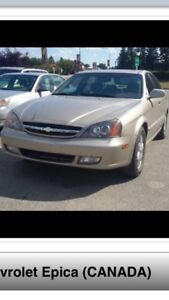 2006 Chevy Epica Fully Loaded