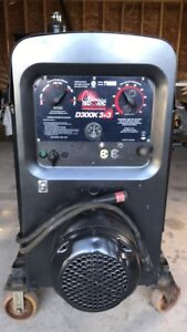 Red-d-arc 3+3 diesel welder