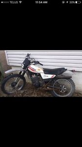 Looking for older dirtbikes running or not