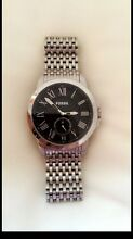 Mens stainless steel Fossil watch. Tuncurry Great Lakes Area Preview