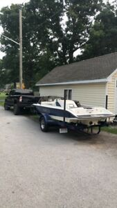 98 gekko gts20 ski boat 310hp trade for sled