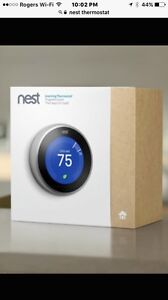 New in BOX! Nest 3rd generation thermostat