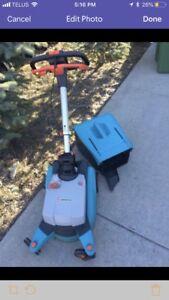 Electric Lawnmower Gardena