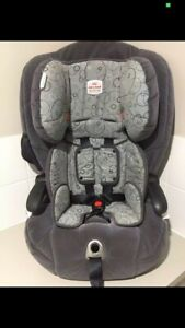 Britax Safe n Sound Maxi Rider booster seat from 6 months to 8 years.